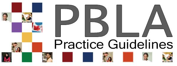 PBLA Practice Guidelines